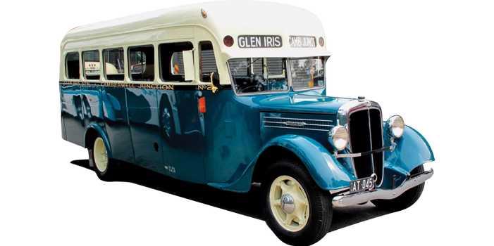Federal bus, 1936 model