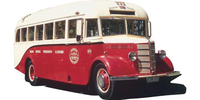 Bedford OB bus, 1946 model