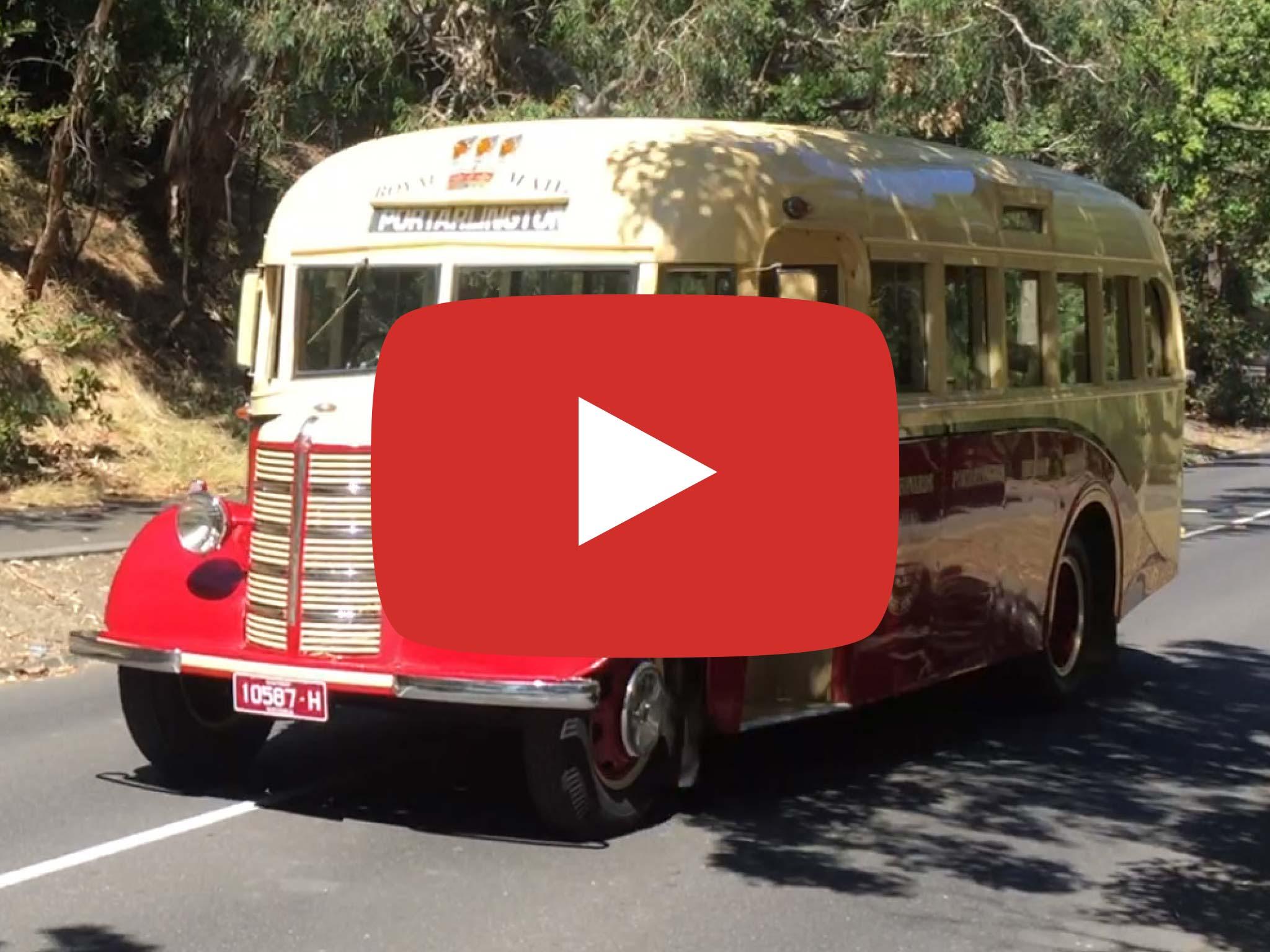 Bedford OB (1946) Bus Video