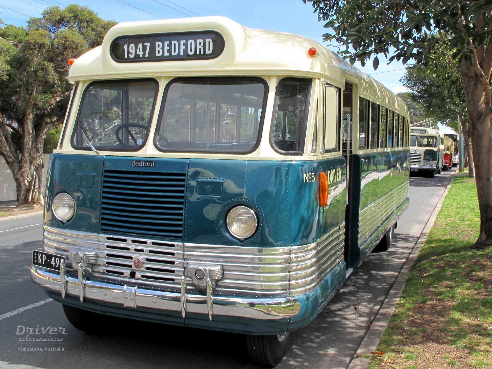 1947 Bedford OB bus. Photo taken September 2009