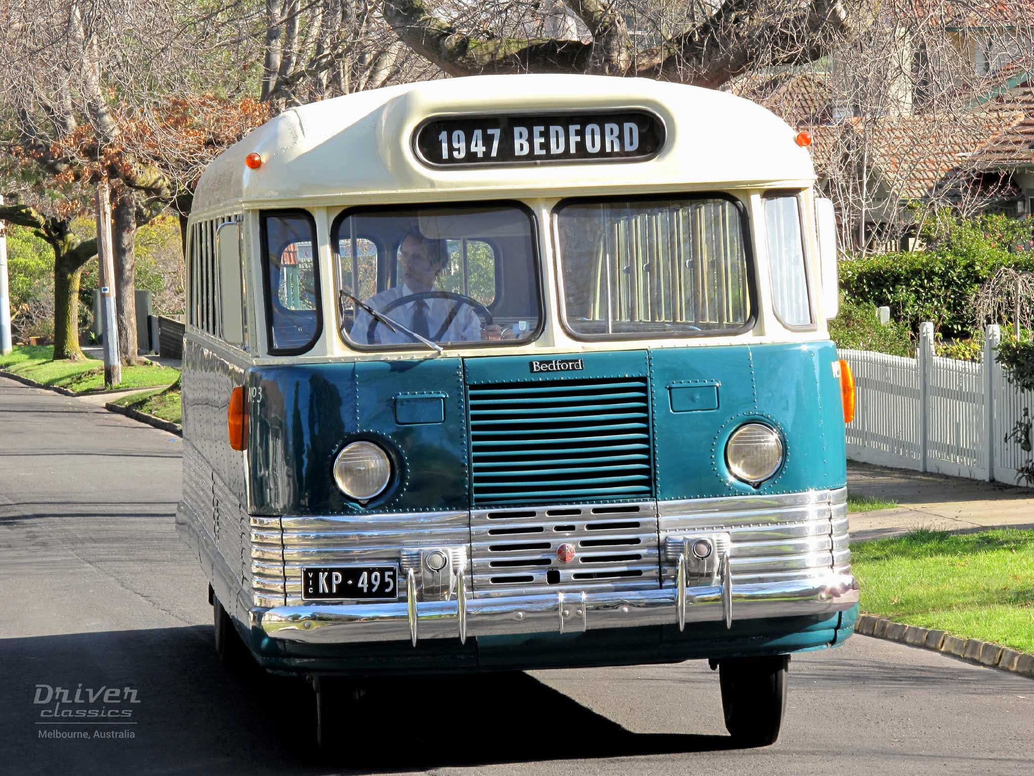 Bedford OB bus 1947 model