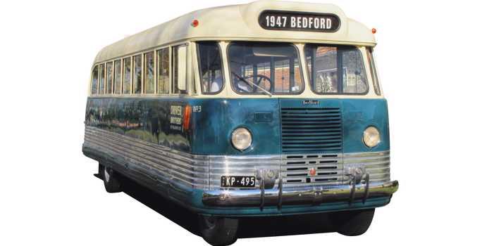 Bedford OB bus, 1947 model