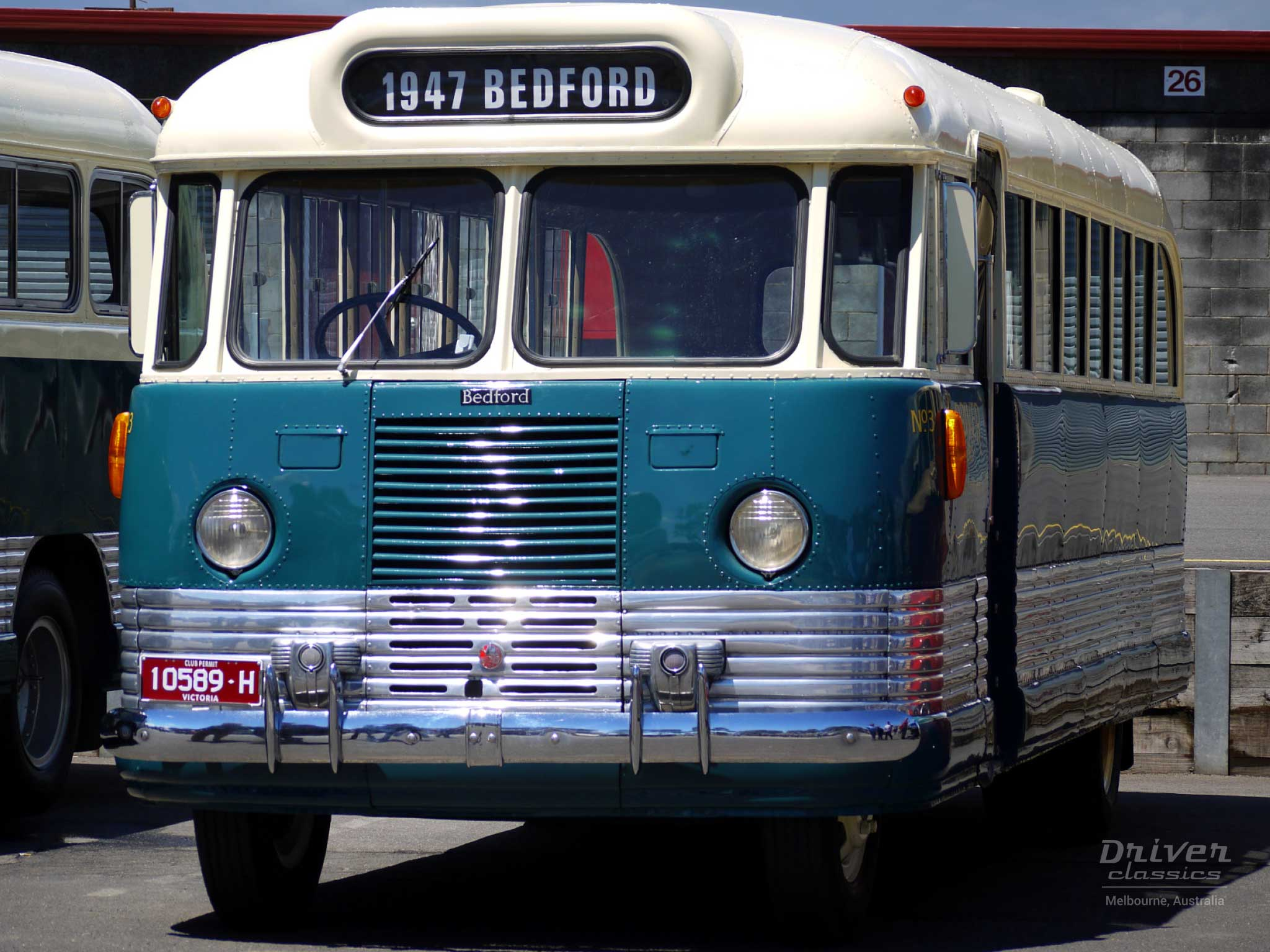 1947 Bedford OB bus, Photo taken November 2007