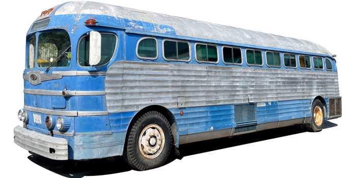 GM PD 4151 Silversides bus, 1948 model