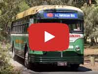 White 798-12 bus (1948 model), at Clayton and Jells Park Victoria Australia, Video taken January 2020