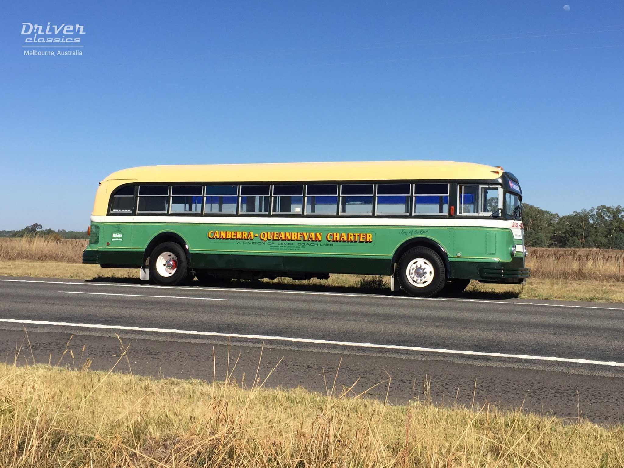 White 798-12 bus, 1948 model, Murchison, Victoria