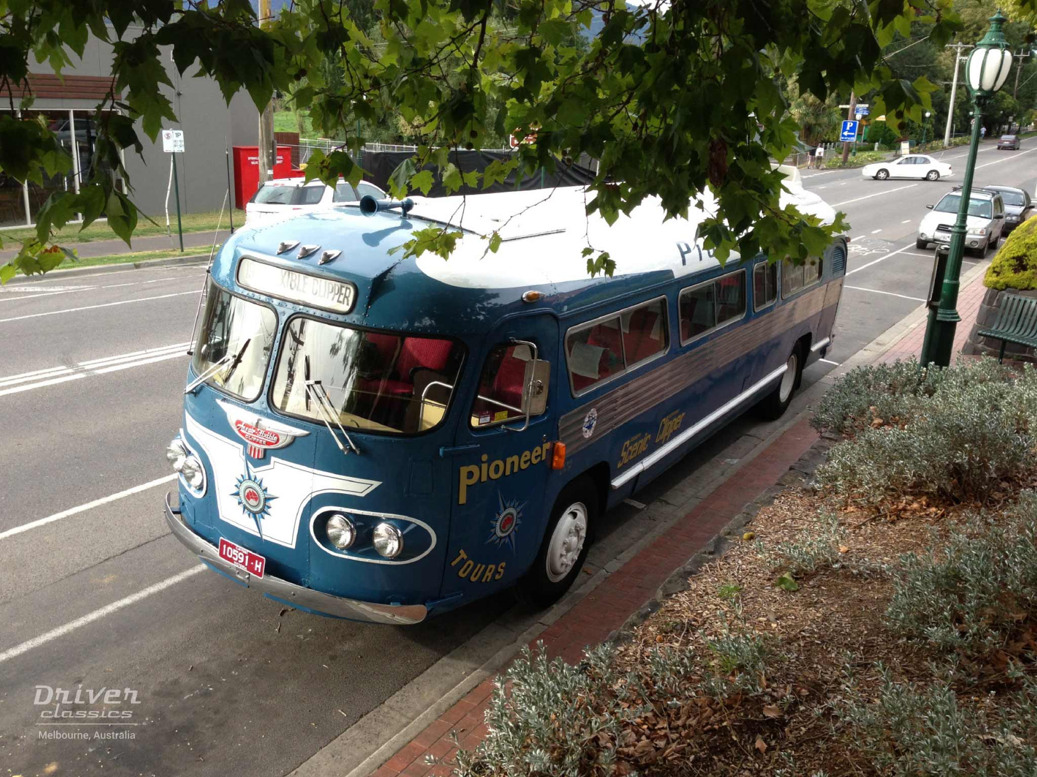 1954 Flxible Clipper bus