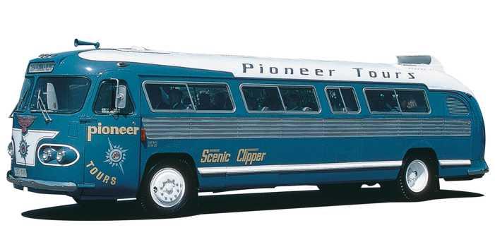 Ansair Flxible Cipper bus, 1954 model