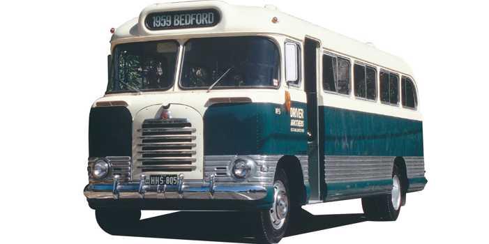 Bedford SB3 bus, 1959 model