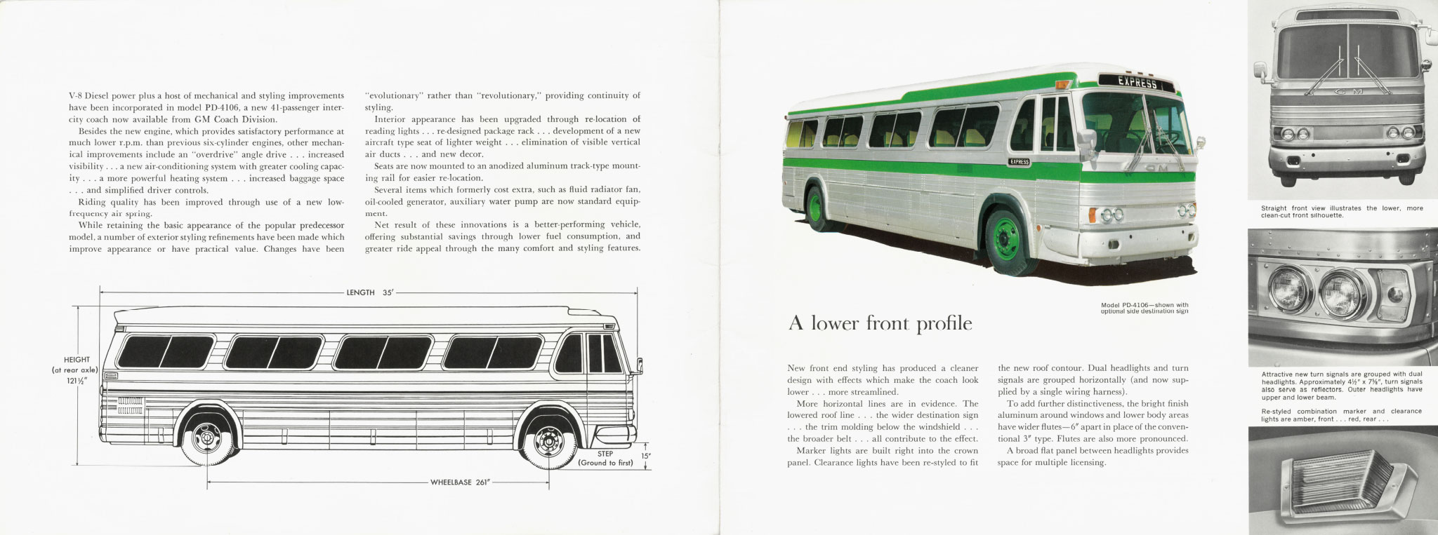 Page from early 1960s GM PD-4106 brochure