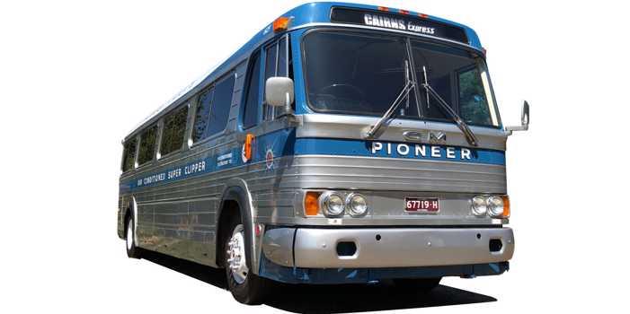 GM PD 4106 bus, 1961 model
