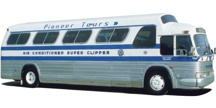 GMC PD4107 bus, 1968 model