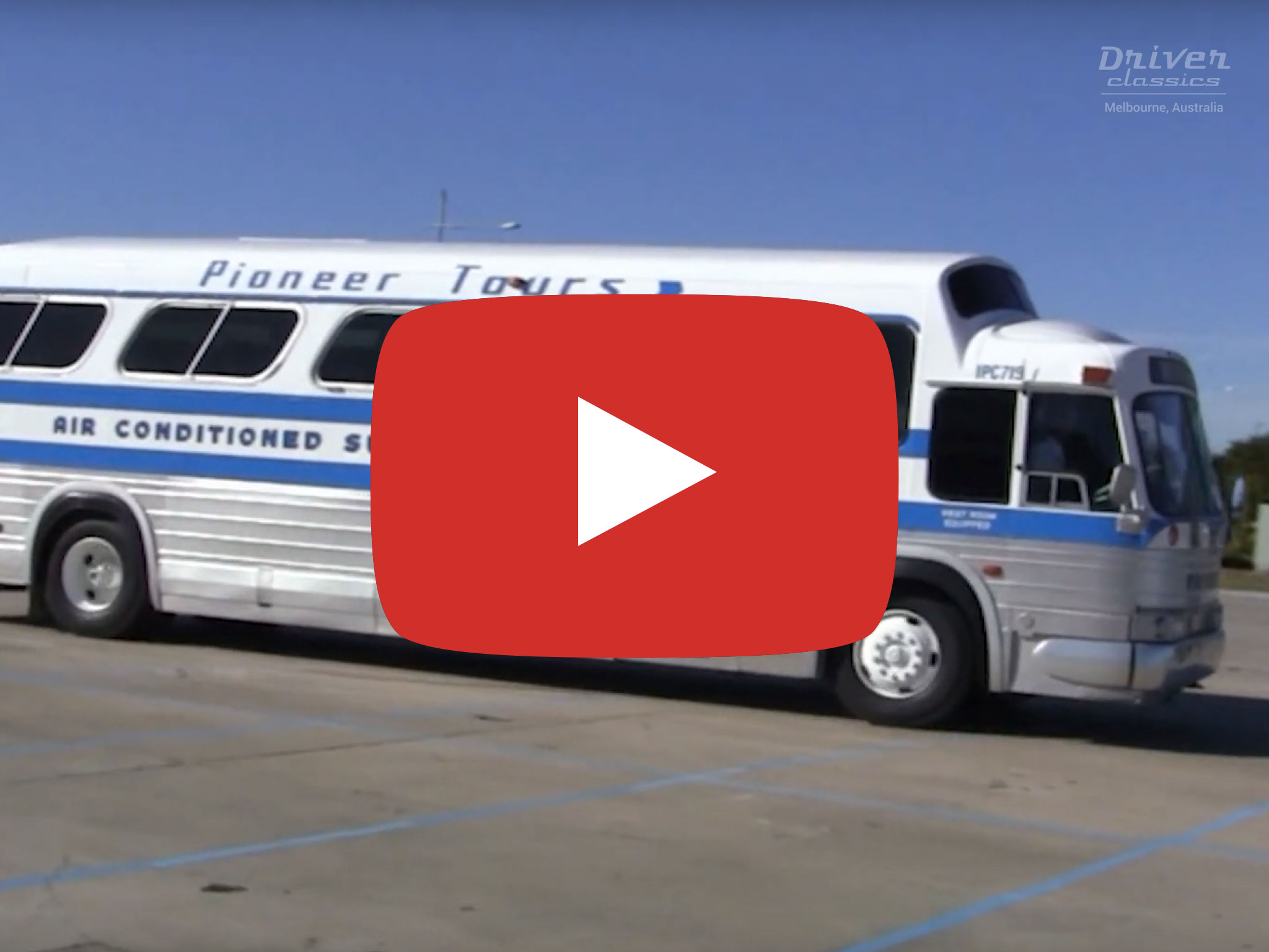 GM PD-4107 Bus, 1968 model, Melbourne Vic. Video by David Kemp in 2016