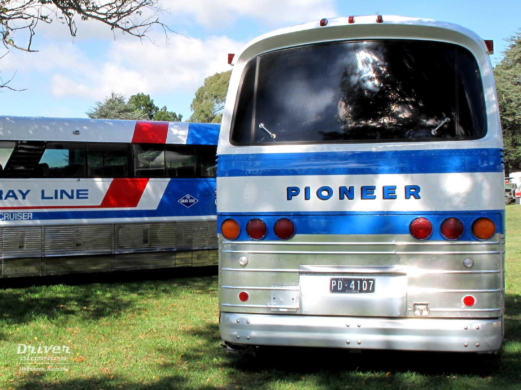 1968 GMC PD4107 coach at Lancefield VIC