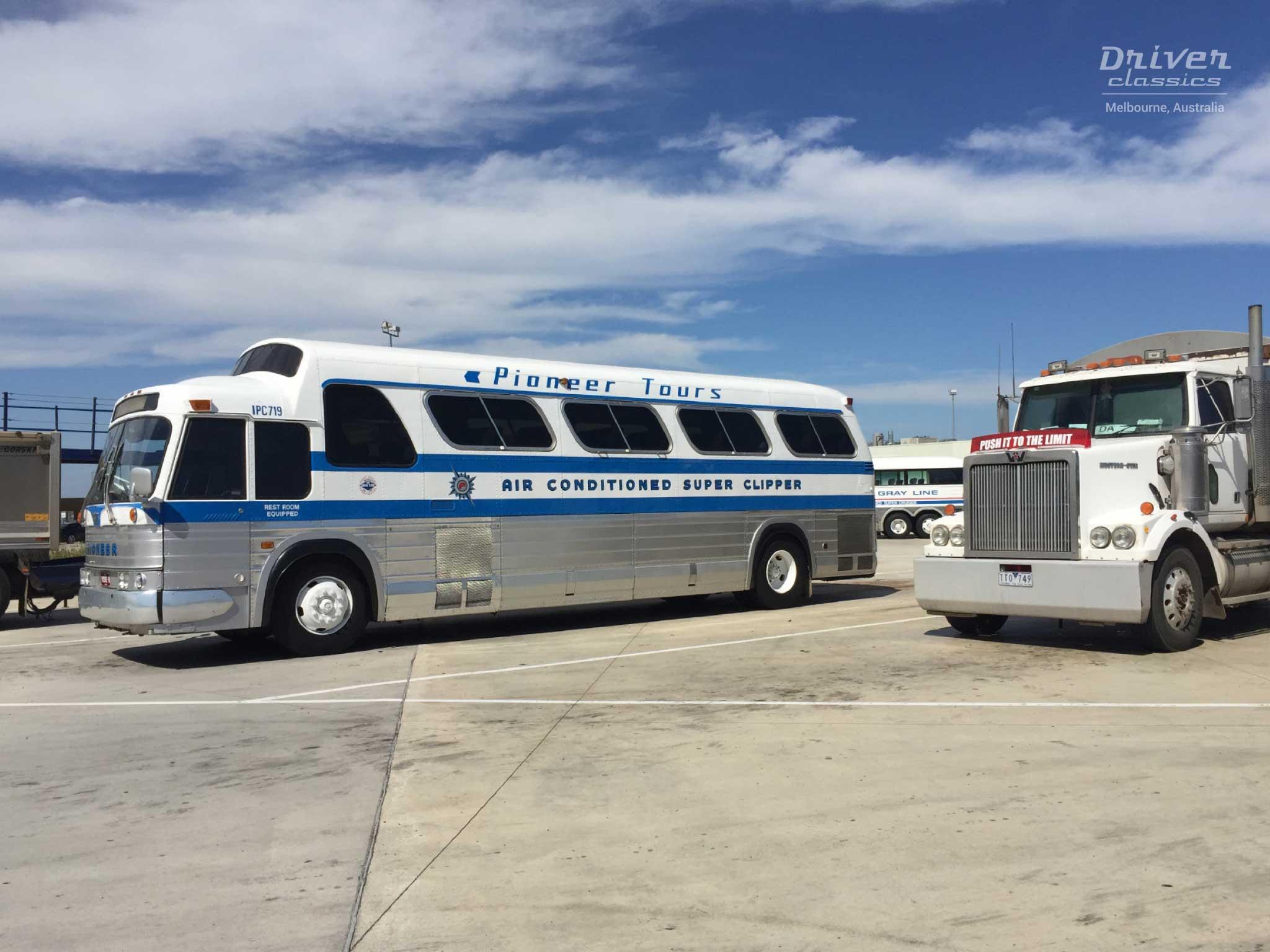 1968 GMC PD4107 bus at Ansett 80th Anniversary 2016