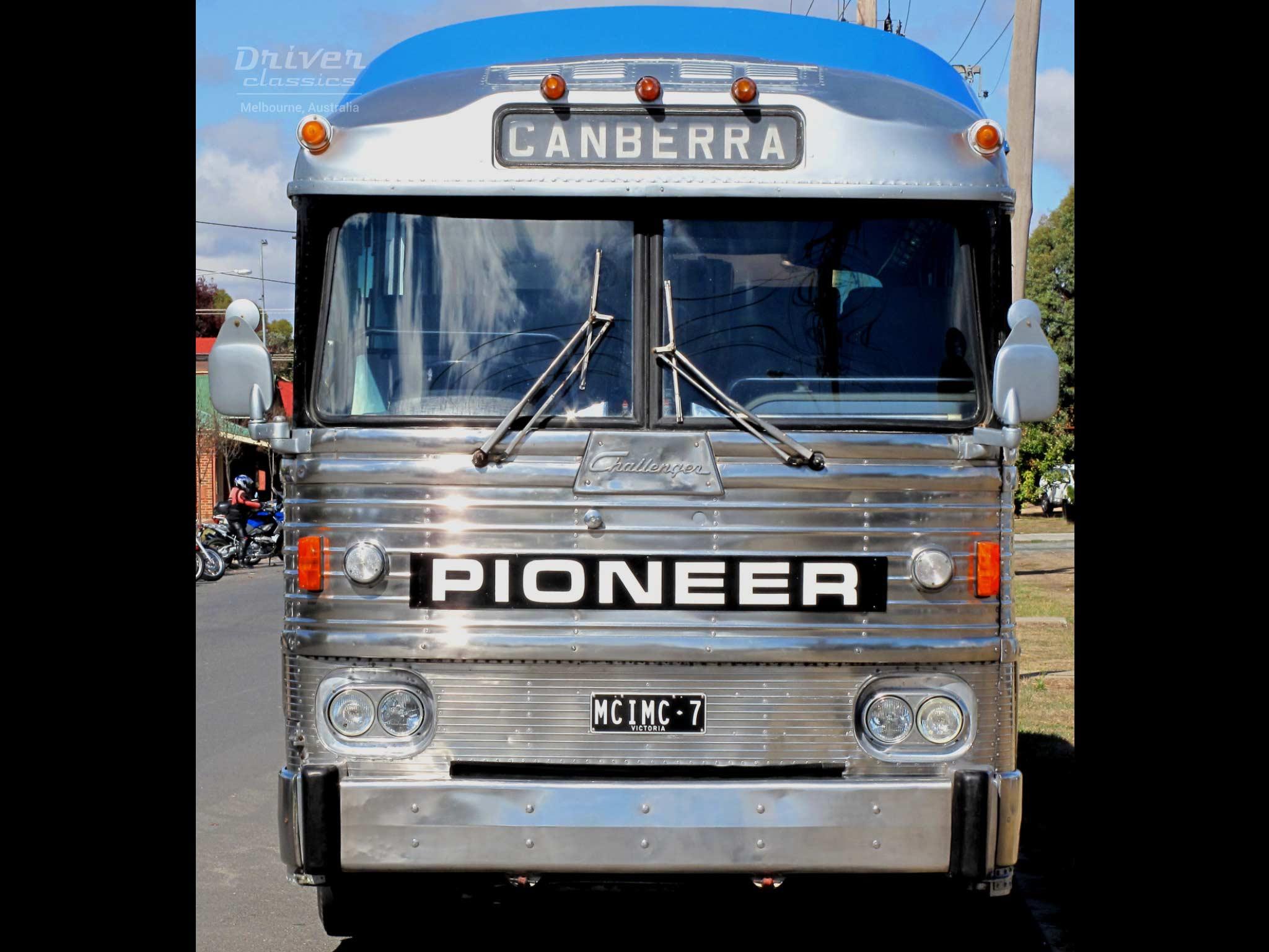 1972 MCI MC7 bus front