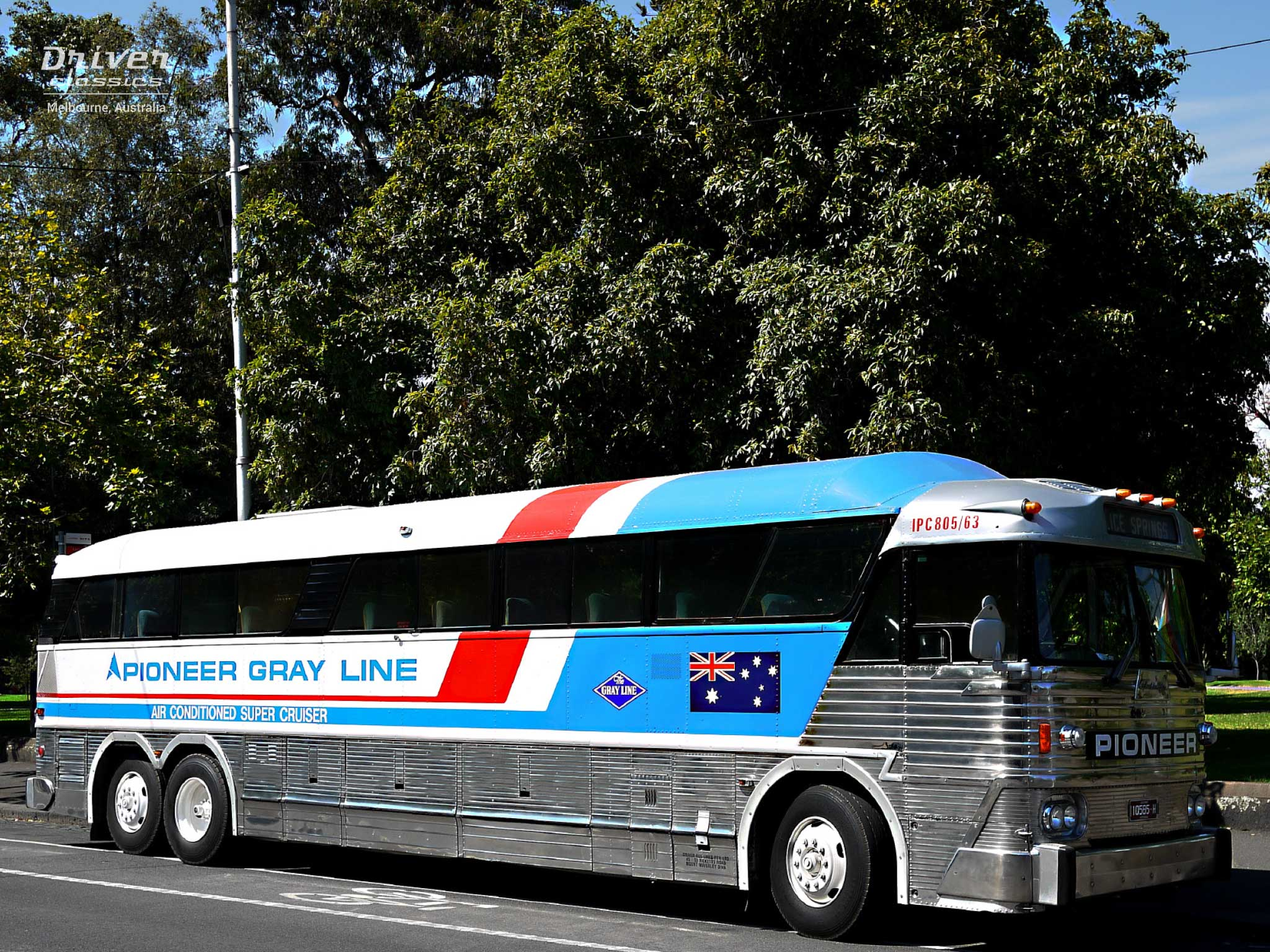MCI MC7 bus, Castlemaine VIC. Photo taken February 2013