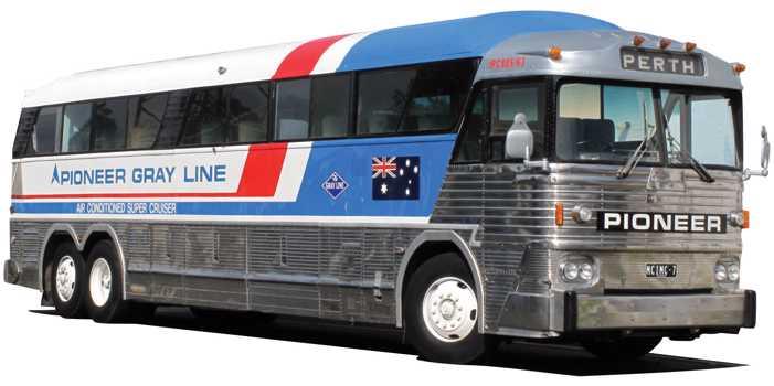 MCI MC7 bus, 1972 model