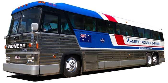 MCI MC8 bus, 1976 model