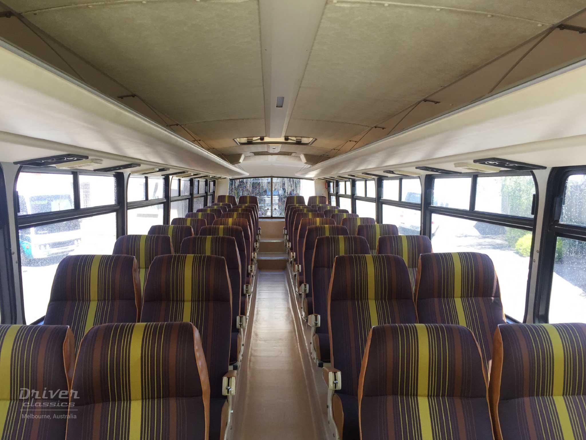 1983 GM Denning DenAir Mono bus interior