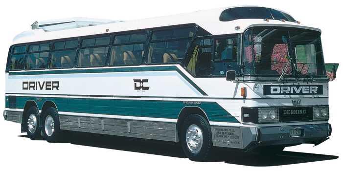 GM Denning Denair Mono bus, 1983 model