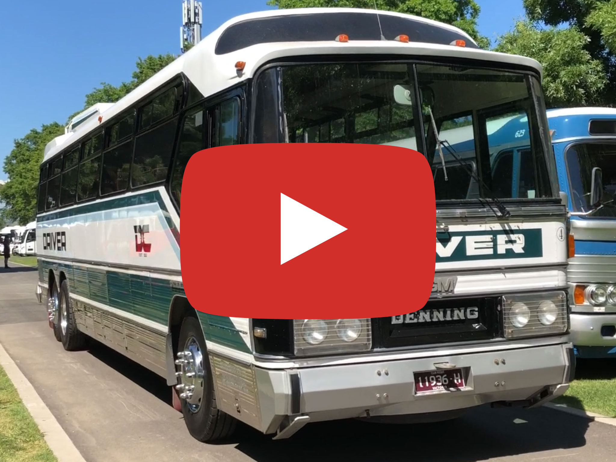 Denning Mono Bus, 1983 version, at Yarra Glen VIC, photo taken November 2018