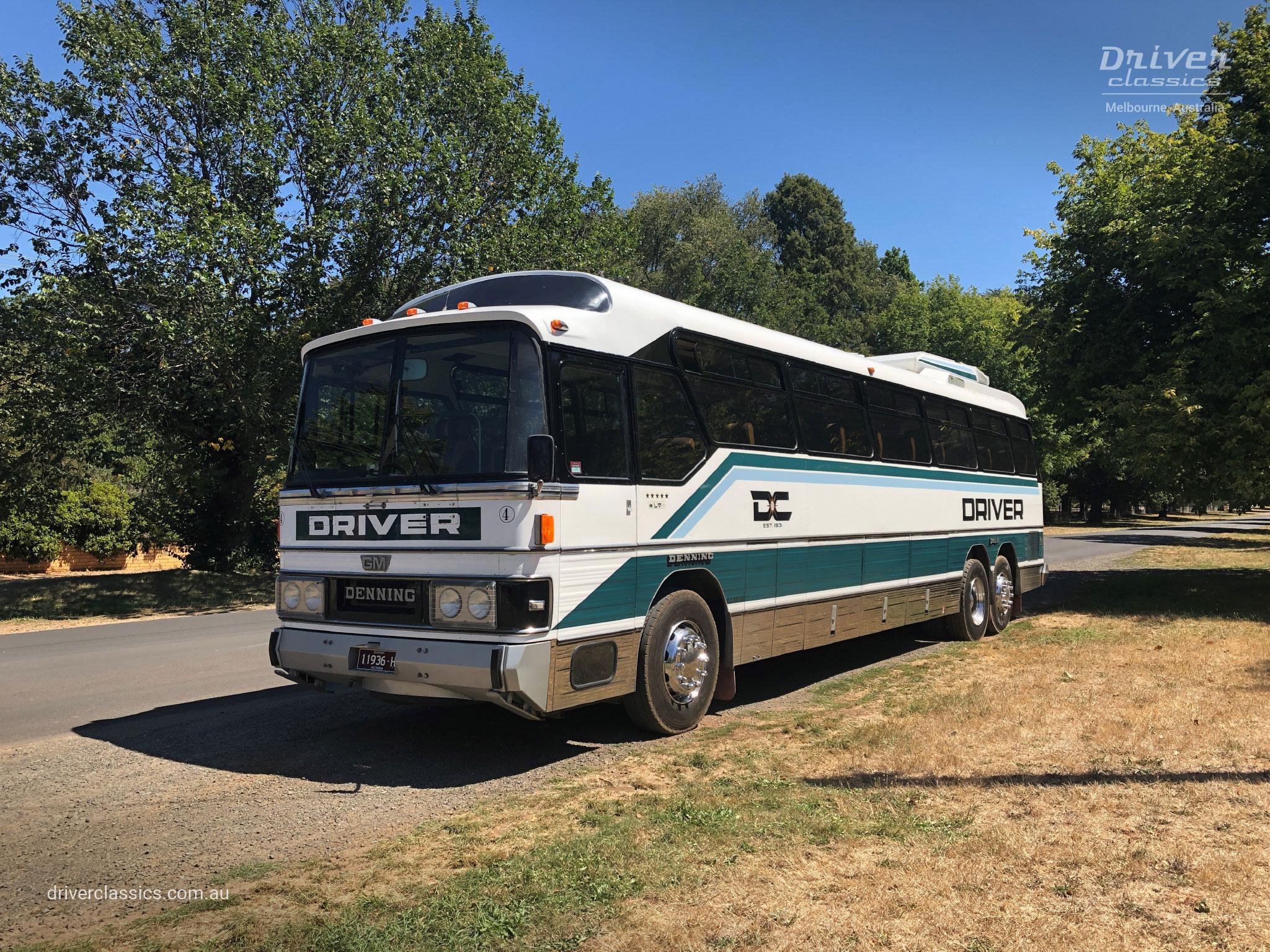 GM Denning DenAir Mono Bus, 1983 model, Lancefield VIC, Photo taken February 2019