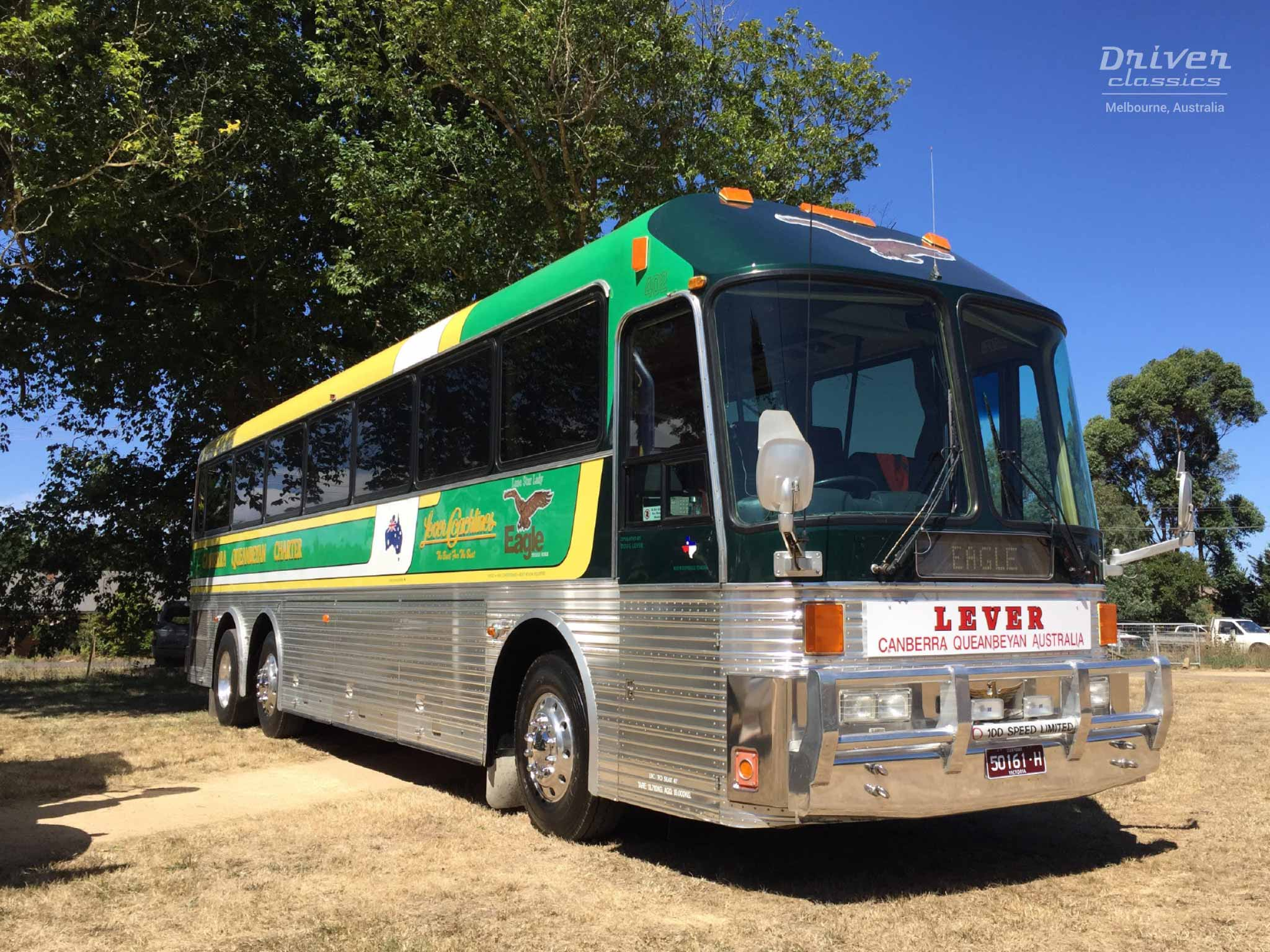 1989 Eagle Model 20 Bus, Lancefield Victoria