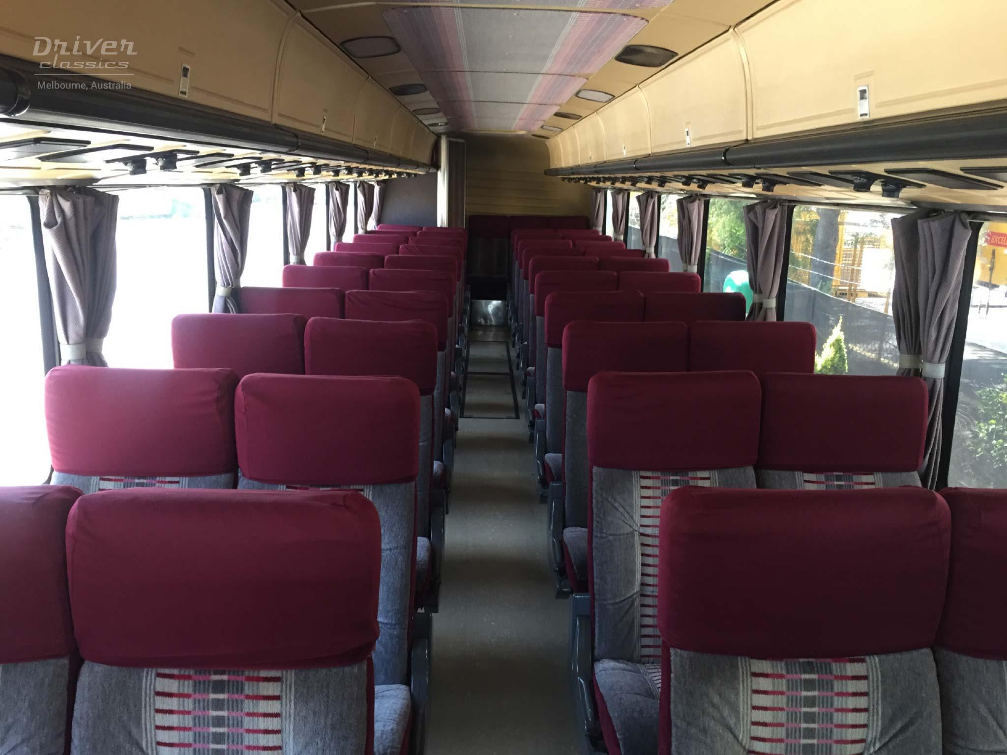 Eagle Model 20 bus interior