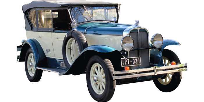 Pontiac 29-6 car, 1929 model
