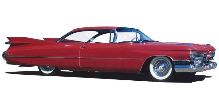 Cadillac Coupe de Ville car, 1959 model