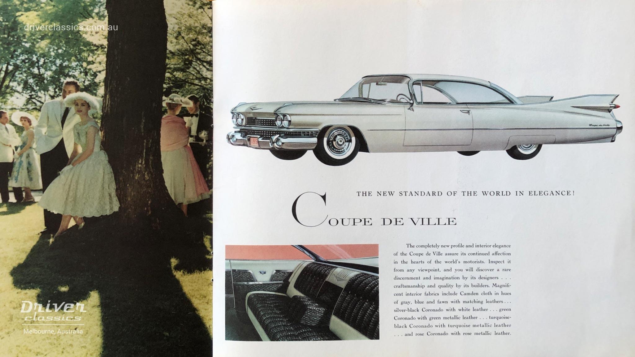 Cadillac Coupe de Ville (1959 version) brochure