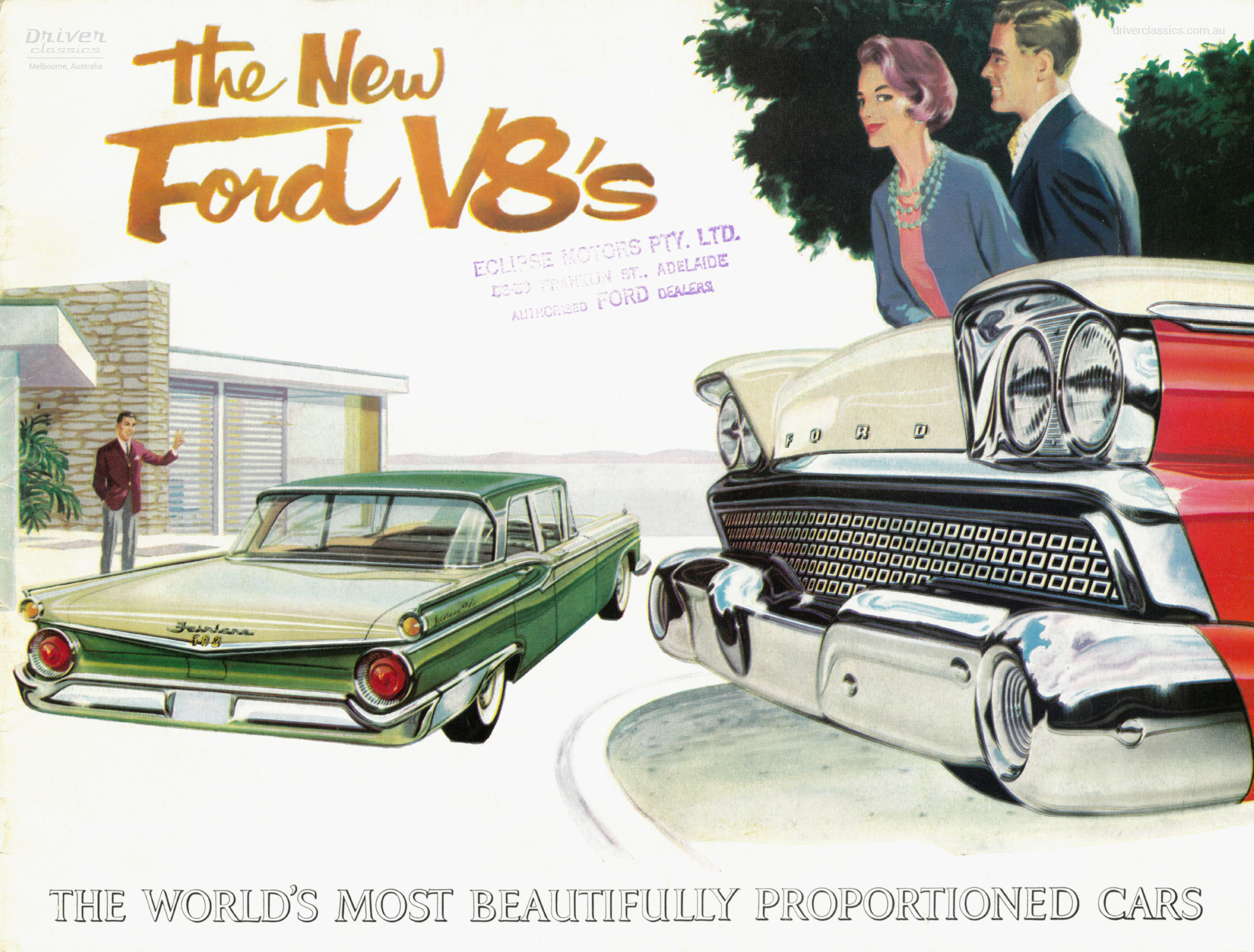 1960 brochure cover for