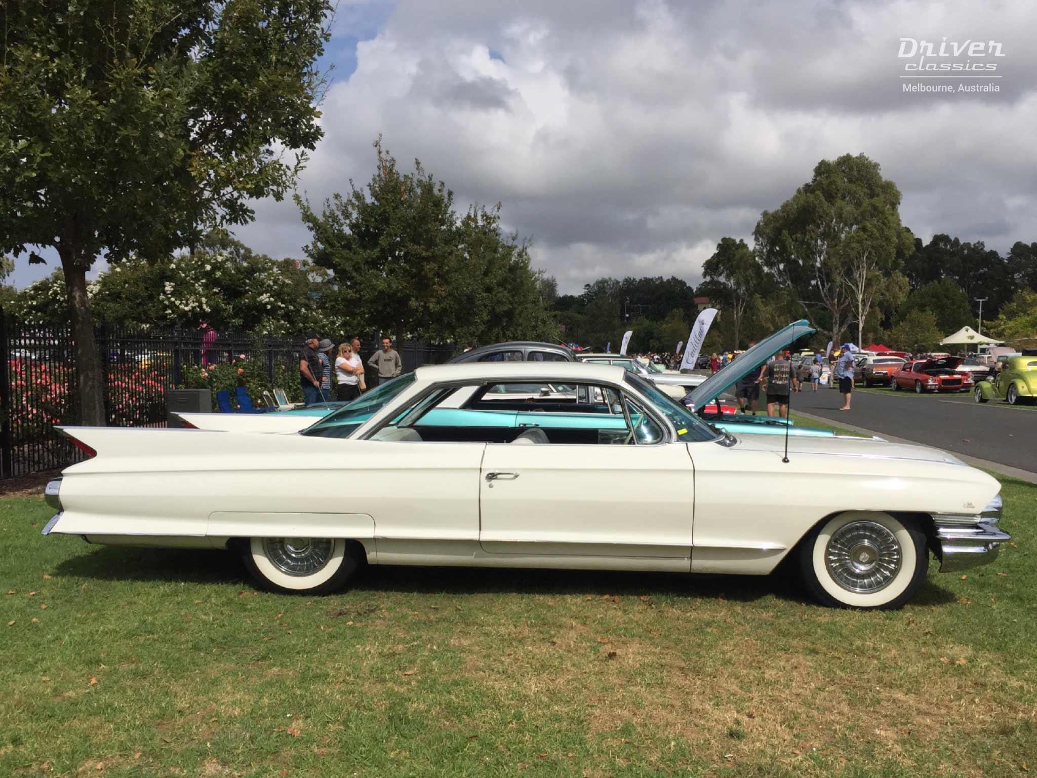 1961 Cadillac Coupe de Ville side profile
