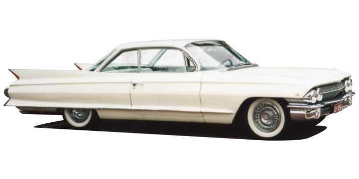 Cadillac Coupe de Ville car, 1961 version