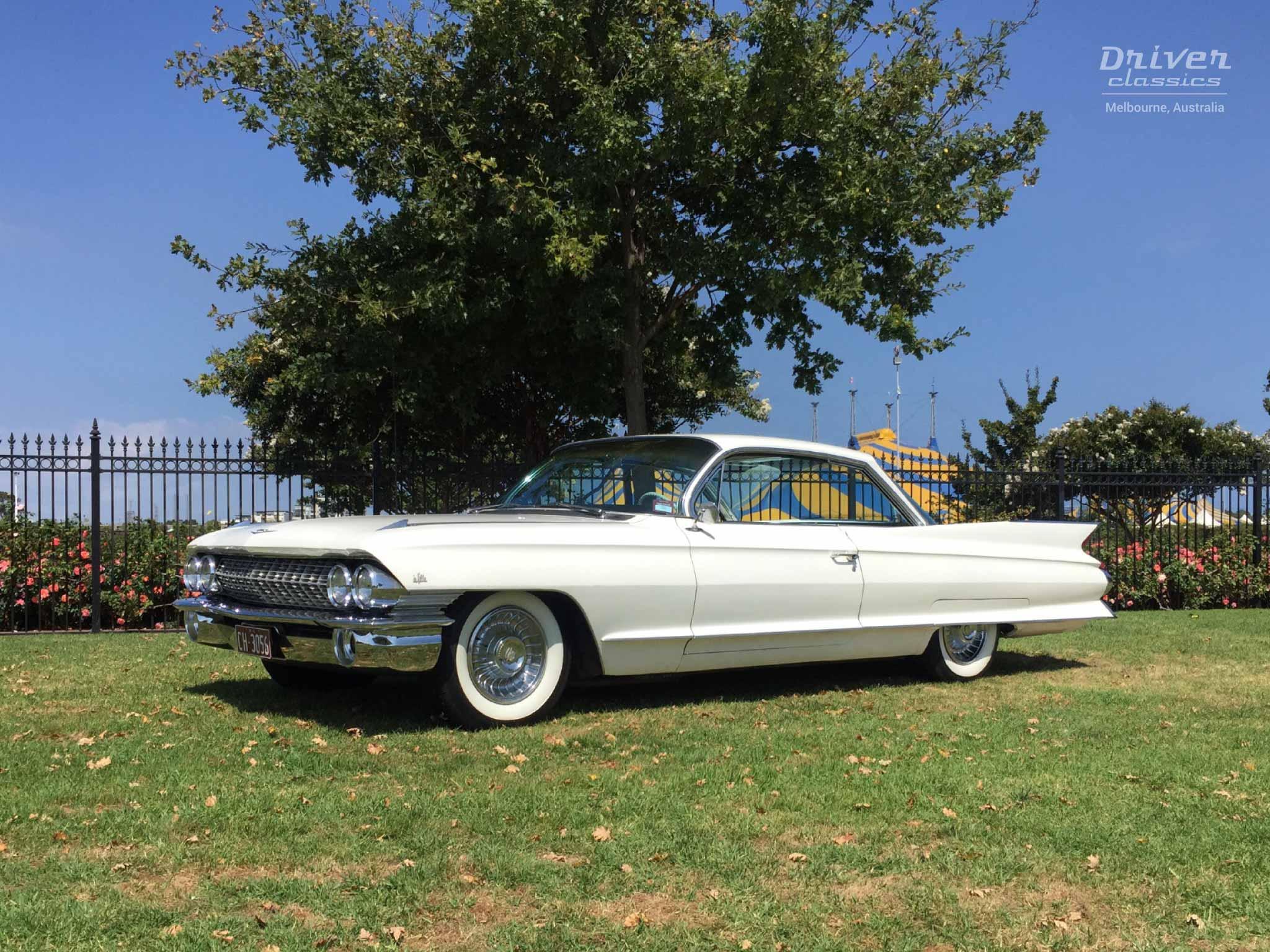 1961 Cadillac Coupe de Ville side
