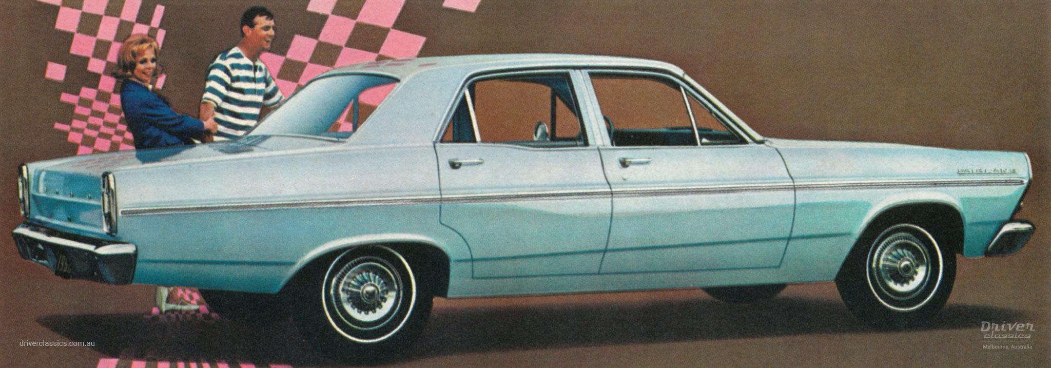 Illustration from US 1966 Ford Fairlane brochure