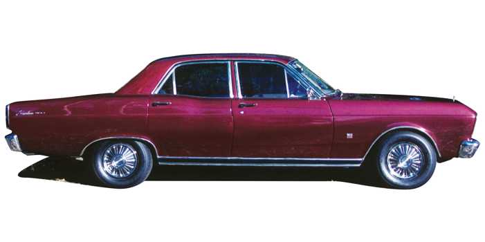 Ford Fairlane 500 car, 1968 model