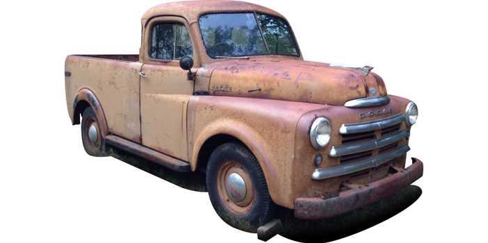 Dodge DF1-08 Pilot House pick up truck, 1950 model