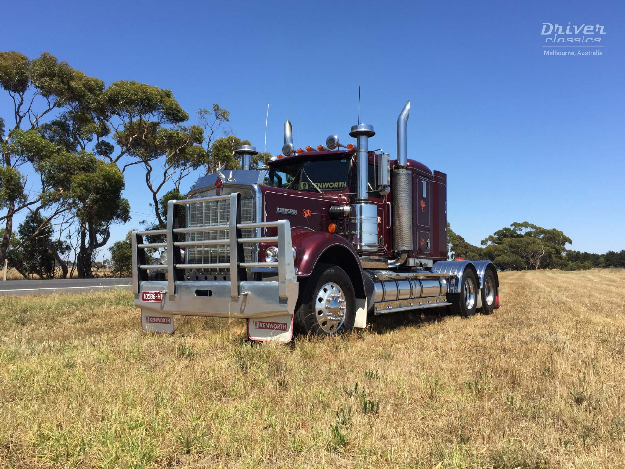 1986 Kenworth W925 truck, December 2015
